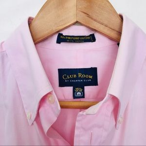 Club Room | Classic Pink Oxford Dress Shirt